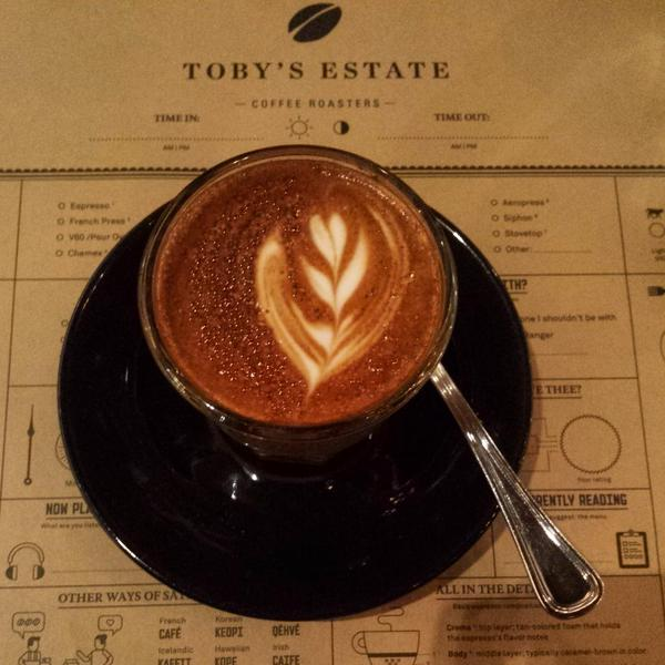 Gibraltar Coffee at Toby's